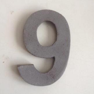 Handgemaakte Keramische huisnummers