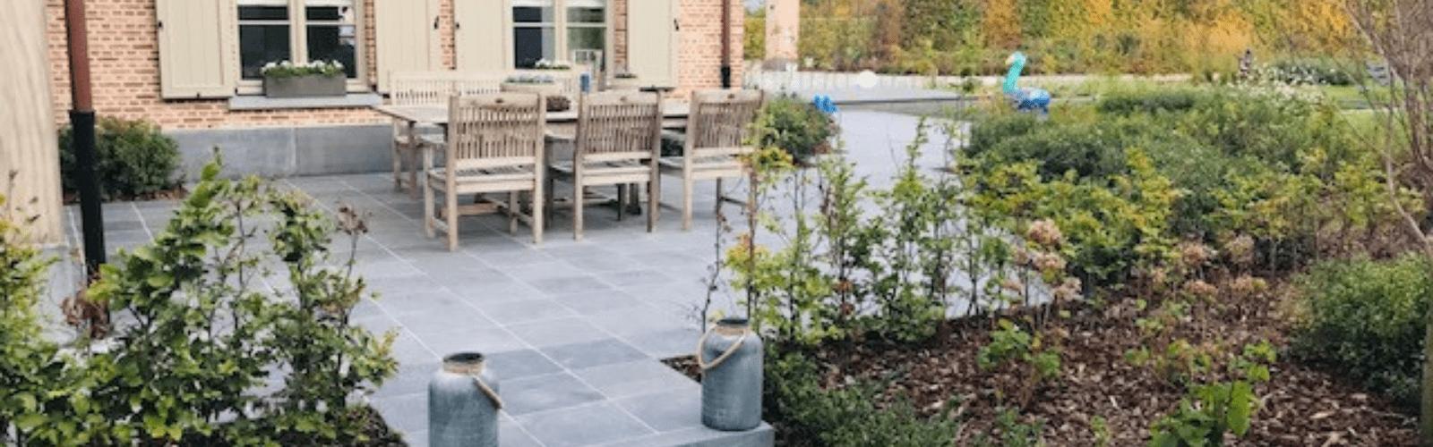 natuursteen tegels voor terrassen en opritten